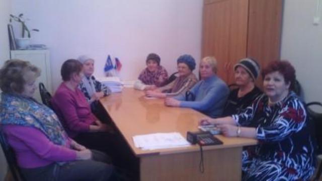 Состоялось заседание Президиума Совета ветеранов войны и труда Ильинского района