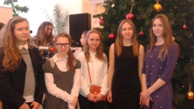 Накануне новогоднего праздника обучающиеся образовательных учреждений района побывали на областном форуме «Одаренные дети»