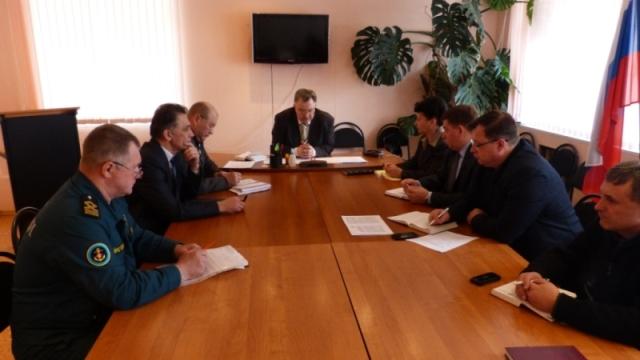 Состоялось заседание комиссии по ЧС