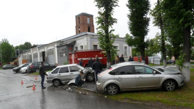 Подробности ДТП в городе Тейково, есть пострадавший