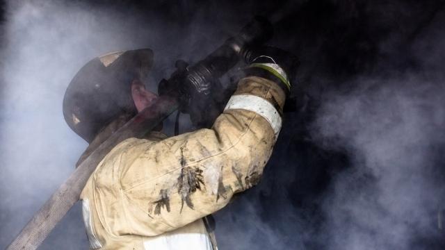В Ивановской области сгорел гараж