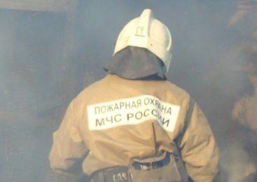 Пожар произошёл в Ивановской области