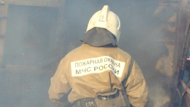 Подробности пожара в деревне Горкино