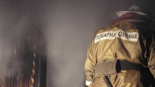 В Шуйском районе случился пожар