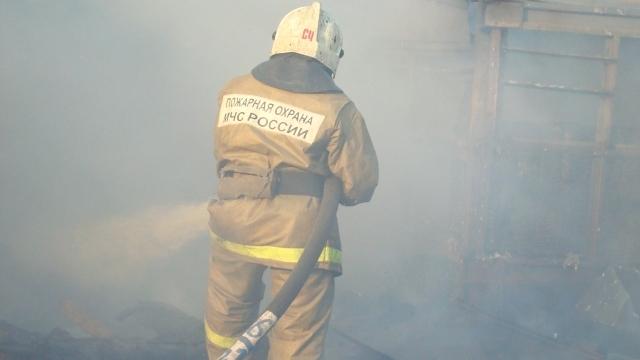 Пожар в городе Родники