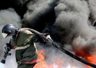 Ночью в Фурманове горел магазин
