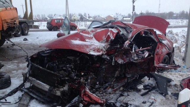 Жуткое ДТП со смертельным исходом произошло в Ивановской области