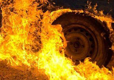 В Иванове сгорел автомобиль