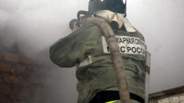 На пожаре в городе Иваново пострадал человек